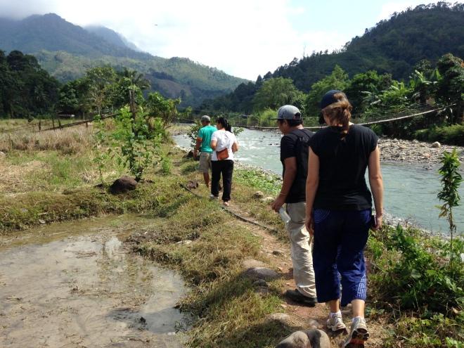 walking sabah