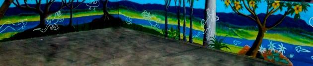 Macquarie Mural Leanne Tobin